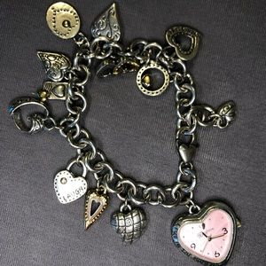 Brighton charm bracelet watch